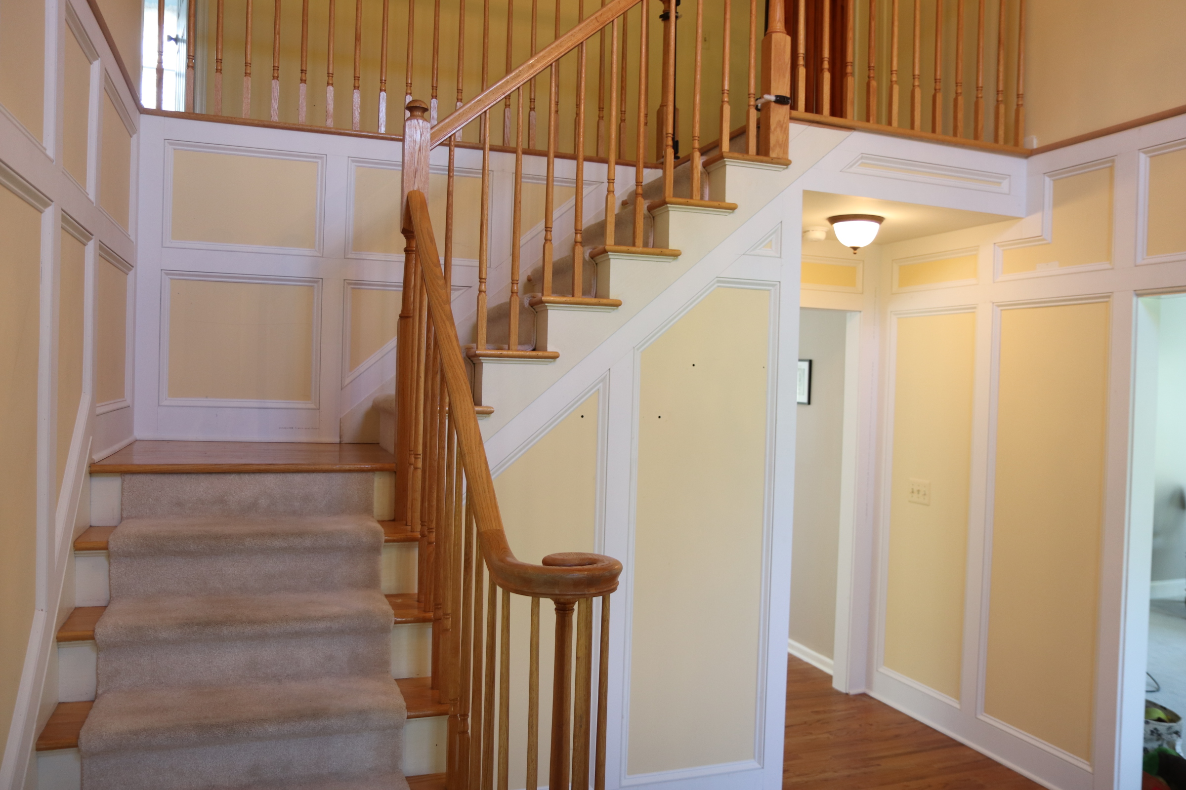 Foyer wainscot 4